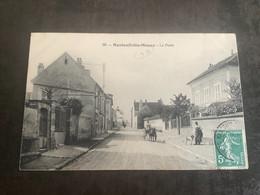 Carte Postale Nanteuil Les Meaux La Poste N 96 - Autres Communes