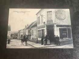 Carte Postale Nanteuil Les Meaux Rue De La Poste - Autres Communes