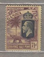GAMBIA 1922 Mint Light Hinged Mi 113 #29590 - Gambia (...-1964)