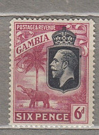 GAMBIA 1922/1927 Mint Light Hinged Mi 101 #29591 - Gambia (...-1964)