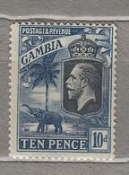 GAMBIA 1922/1927 Mint Light Hinged Mi 103 #29592 - Gambia (...-1964)