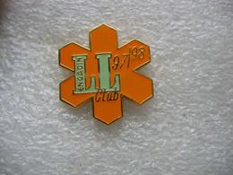 Pin's Du Club De Golf Engadin à St. Moritz, Saison 97/98 - Golf