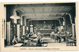 POITIERS - Salle De Lecture De La Bibliothèque - Poitiers