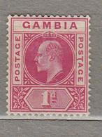 GAMBIA 1902/1909 Mint Light Hinged Mi 29 #29594 - Gambia (...-1964)