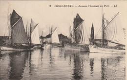 CONCARNEAU : Bateaux Thonniers Au Port. - Concarneau