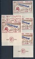 EC-442: FRANCE : Lot Avec N°1422**(3)-1422**(3, Gomme Défectueuse, Comptés*) - Nuovi