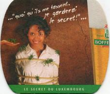 Sous-Bock Bière - Bofferding Le Secret Du Luxembourg - Portavasos