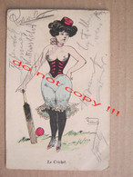 Le Cricket - Erotic Illustration ... ( 1910 ) / Illustrateur ? - Other Illustrators