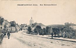 39) CHAMPAGNOLE : Rue Baronne-Delort - Champagnole
