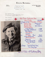 Red Cross 1963 Musical Concert With BBC Singer & Military Hand Signed Photo - Programme
