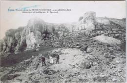 16 - Petit-Puymoyen Près D'Angoulème  (Charente) - Station Moustérienne Découverte Et Fouillée Par M. Favraud - Angouleme