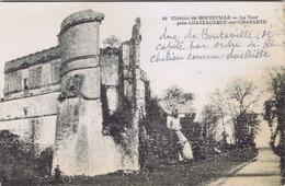 16 - Bouteville Près De Chateauneuf-sur-Charente - La Tour Du Château - Chateauneuf Sur Charente
