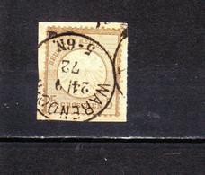 DR 6 Brustschild Briefstück Stempel Warendorf - Used Stamps