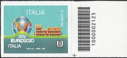 Italia / Italien 2021 EURO2020 Con Codice A Barre / Mit Strichkode - Codici A Barre