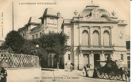 CPA - CHATEL-GUYON - LE CASINO (IMPECCABLE) - Châtel-Guyon