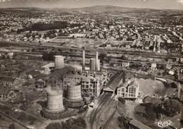 71 - MONTCEAU-LES-MINES - CENTRALE ÉLECTRIQUE - VUE AÉRIENNE - Montceau Les Mines