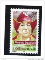 """France 3343  Neuf ** (""""Alexandra David-Néel""""  )  Cote 1,25€ (sous Faciale) - Unused Stamps"""