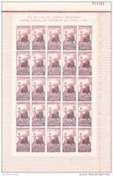 España Nº 1261 En Pliegos De 25 Sellos - 1951-60 Unused Stamps