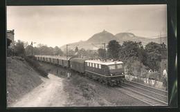 AK Personenzuglok Der Reine E 41, Umgebauter Preussischer Vierachser - Treinen