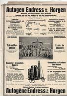 Autogen Endress A.G. Horgen Schweisser-Schule - Zürich - Schweiz - Advertising