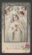 Image Pieuse Pain Des Anges - Bread Of Angels - Devotieprenten
