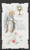 Image Pieuse Communion Et Ange 18 Mai 1930 - Devotieprenten