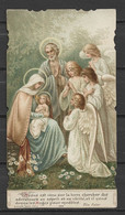 Image Pieuse Sainte Famille Et Anges Bouasse Jeune - Devotieprenten