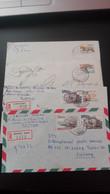 Portugal - 4 Cartas Circuladas (Paisagens E Monumentos) - Cartas