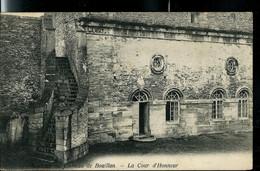 CP ( Bouillon: La Cour D'honneur) Obl. ARLON - BRUXELLES  1905 - Bahnpoststempel