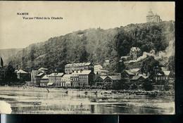 CP ( Namur: Vue Sur Hôtel De La Citadelle ) Obl. ARLON - BRUXELLES  1905 - Bahnpoststempel
