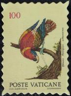 Vatican Timbre Fictif Autocollant Oiseau Lorius Domicella Lori Des Dames Scrapbooking - Scrapbooking