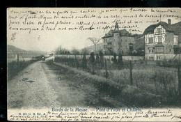 CP ( Pont D'Yvoir Et Chalets  ) Obl. LINKEBEKE 1905 - Postmarks With Stars