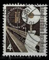 Bund 1953,Michel# 167 O Dt. Verkehrsausstellung, München - Usados