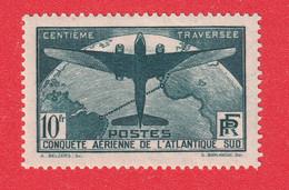 N°321 TRAVERSEE ATLANTIQUE SIGNE CALVES - Ongebruikt