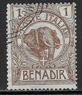 Somalia Scott # 1 Used Elephant, 1903 - Somalia