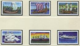 GUINEA / MiNr. 3629 - 3634 / Geschichte Des Schiff- Und Flugzeugbaus / Postfrisch / ** / MNH - Ships