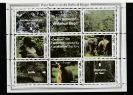R.D.CONGO - BLOC N° 74 ** (2005) Parc National De Kahuzi Biega - Nuovi