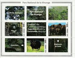 R.D.CONGO - BLOC N° 77 ** (2005) Parc National De Virunga - Nuovi