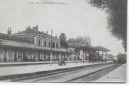 CPA -(74) -ANNEMASSE - La Gare - Annemasse
