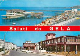 CPSM Sicilia-Saluti Da Gela-Beau Timbre    L753 - Gela