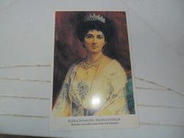 Cartolina  ELENA DI SAVOIA  NUOVA - Case Reali