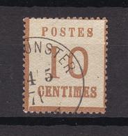 Elsass Und Lothringen - 1870 - Michel Nr. 5 I K1 - Gestempelt - North German Conf.