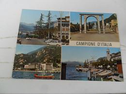 Cartolina VEDUTINE CAMPIONE D'ITALIA  TEMATICA  AUTO - Turismo