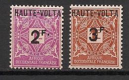 Haute-Volta - 1927 - Taxe TT N°Yv. 9 à 10 - Série Complète - Neuf * / MH VF - Postage Due