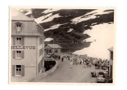 "12751 "" HOTEL BELLEVUE-PASSO DEL SEMPIONE-5/6/1959 "" - VERA FOTO - Lugares"