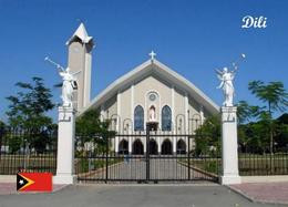East Timor Dili Cathedral New Postcard Osttimor AK - East Timor