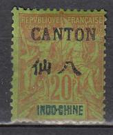 Canton. 1901-3, Nr. 23, Used - Neufs
