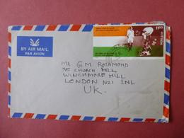 INDIA Postmark  JEYPUR? GANDHI 125 YEARS - Ohne Zuordnung