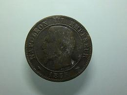 France 2 Centimes 1855 B - B. 2 Centimes