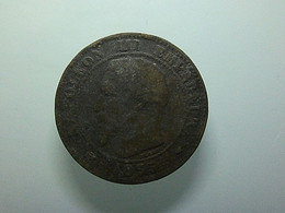 France 2 Centimes 1855 A - B. 2 Centimes